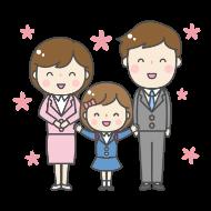 子どもの記念日を祝うアイコン